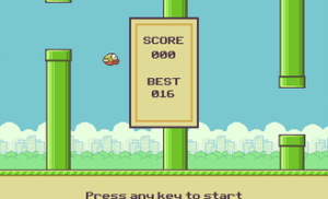 TI-84 Plus CE-T Flappy Bird
